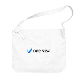 one visa logo 2019 Big shoulder bags