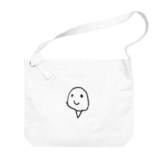ニワトリ Big shoulder bags