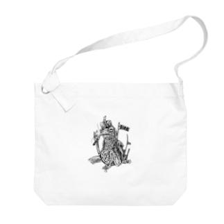 SH11NA WORKS - CHILL FROG Big shoulder bags