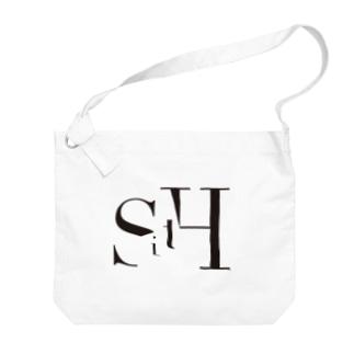 SitH LOGO(Plane) Big shoulder bags