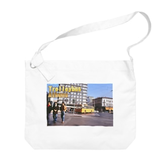 ギリシャ:アテネのトロリーバス Greece:Trolleybus/Athens/Greece Big shoulder bags