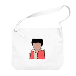 影山のグッズ Big shoulder bags