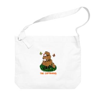 the capybaras Big shoulder bags