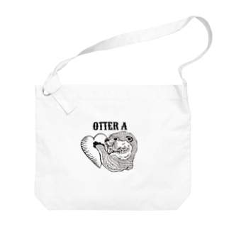 OTTER Aのかわうそさん Big shoulder bags