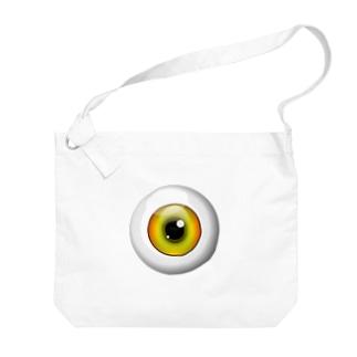 PB-EYEBALL イエロー Big shoulder bags