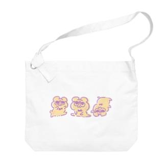 ダンシング・テディ轟 Big shoulder bags