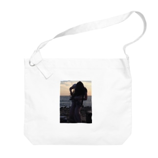 海辺のばねとりこ Big shoulder bags