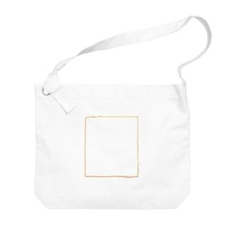 なべじょ_babyのサイン色紙シリーズ Big shoulder bags