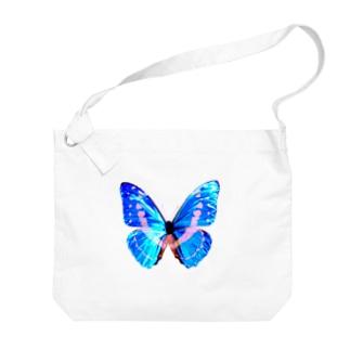 モルフォの羽 Big shoulder bags
