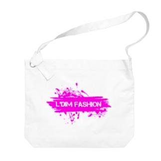 L'dim fashion 【エルディムファッション】ストリートスタイルのL'dim fashion paint. Big shoulder bags