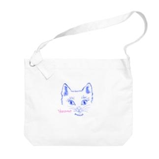 YOKAROUMON NEKO Big shoulder bags