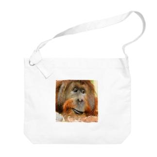 オランウータン Big shoulder bags