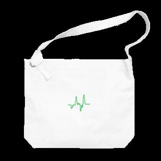 hachi08のラインシリーズ2 Big shoulder bags