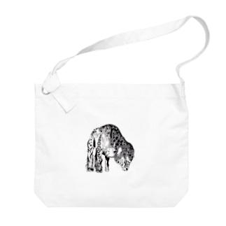 black sheep Big shoulder bags