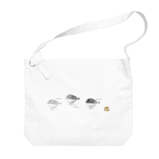 OishiiSAKANA Big shoulder bags