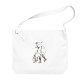 バレエダンサー Big shoulder bags
