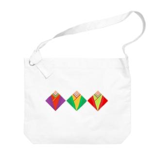 十二単 Big shoulder bags