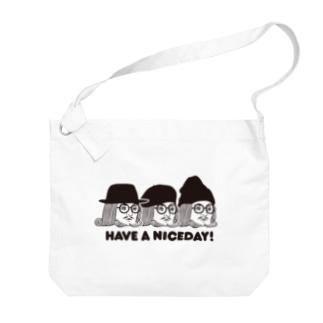 王様 Have a Nice Day! Big shoulder bags