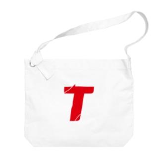 T Big shoulder bags
