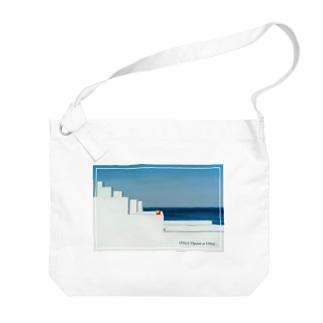 海と林檎 Big shoulder bags
