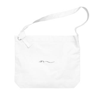 M Big shoulder bags