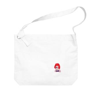 フムム…… Big shoulder bags