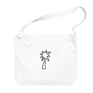 パームツリー Big shoulder bags