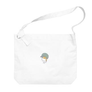 haikara girl Big shoulder bags