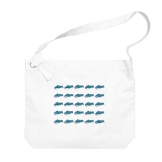 サメち FOREVER Big shoulder bags