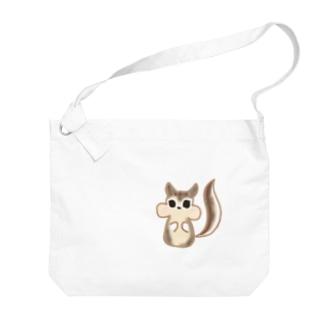リスちゃん Big shoulder bags