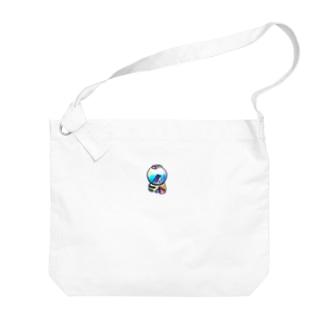 わたしが欲しいと思っているスノードームのイラスト Big shoulder bags