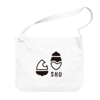 SHU_LOGO_mono Big shoulder bags