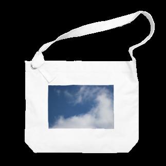 u_m_p_のsora Big shoulder bags
