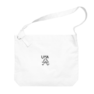 UMA 宇宙人 Big shoulder bags