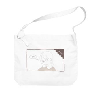 シンプルガール(natural) Big shoulder bags