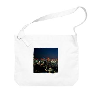 Night Light Big shoulder bags