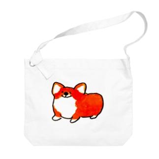 ハッピーちゃん Big shoulder bags