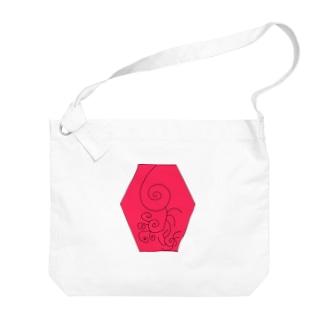 JUSEN SETA 【瀬田純仙】COOL JAPAN  冬の昼寝 Big shoulder bags