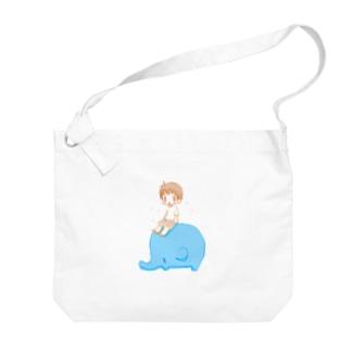 ぼうちゃんとぱおチャン Big shoulder bags