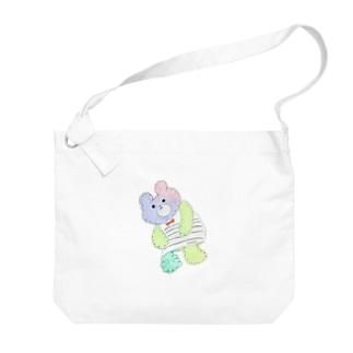 くまのこチャンプ Big shoulder bags