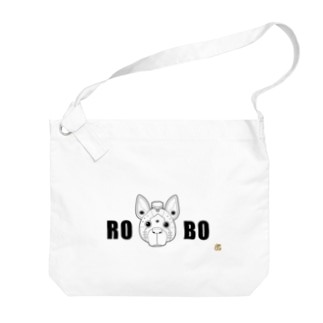 ロボ犬 Big shoulder bags