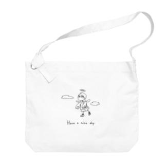 天使くん ビッグショルダーバック Big shoulder bags