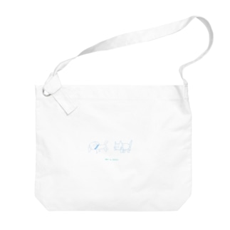 INU to NEKO Big shoulder bags