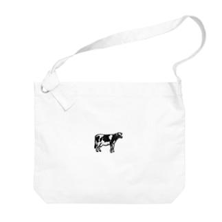 牛 Big shoulder bags
