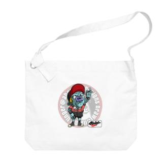 もんすたーgang Big shoulder bags