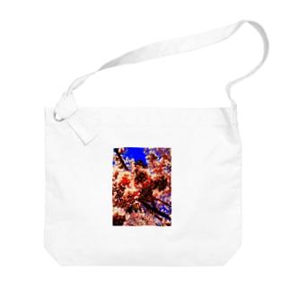 桜 Big shoulder bags