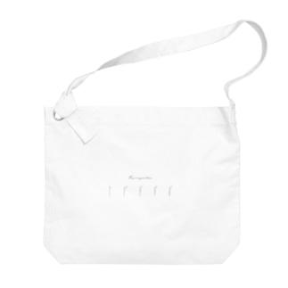 FU-RYOKU(手書き) Big shoulder bags