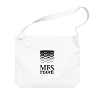 MFS room trim5(黒) Big shoulder bags