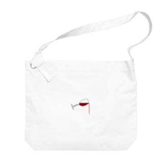 WINE Big shoulder bags