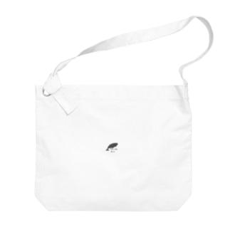 コマッコウクジラさん Big shoulder bags
